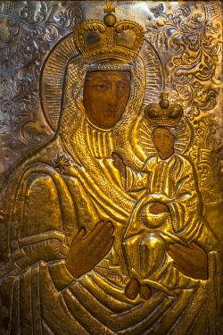 UA01200 Orthodox Icon of Mary and Jesus, St. Volodymyr's Cathedral, Kiev (Kyiv), Ukraine