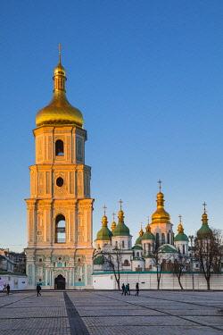 UA096RF St. Sophia's Cathedral and Bell Tower, Sofiyivska Square, Kiev (Kyiv), Ukraine