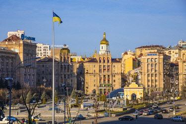 UA101RF Independence Square (Maiden Square), Kiev (Kyiv), Ukraine