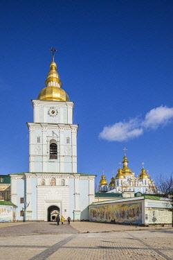 UA01235 St. Michael's monastery, Sofiyivska Square, Kiev (Kyiv), Ukraine