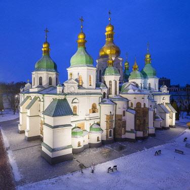 UA01242 St. Sophia's Cathedral, Kiev (Kyiv), Ukraine