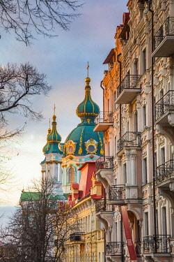 UA01263 St. Andrew's church, Kiev (Kyiv), Ukraine