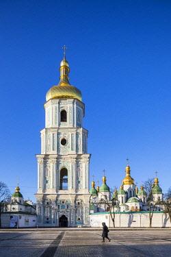 UA01285 St. Sophia's Cathedral and Bell Tower, Sofiyivska Square, Kiev (Kyiv), Ukraine