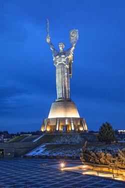 UA01294 Motherland Monument, National Museum of the History of Ukraine in WW2, Kiev (Kyiv), Ukraine