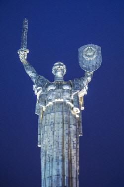 UA01297 Motherland Monument, National Museum of the History of Ukraine in WW2, Kiev (Kyiv), Ukraine