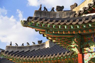 SKO558AWRF Changdeokgung Palace (UNESCO World Heritage Site), Seoul, South Korea