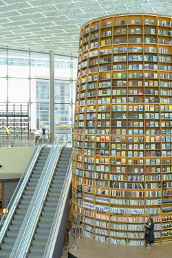 SKO488AW Starfield Library in COEX Mall, Seoul, South Korea