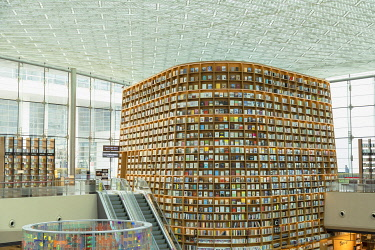 SKO490AW Starfield Library in COEX Mall, Seoul, South Korea