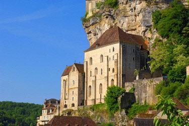 IBLJMC02446905 Rocamadour, Midi-Pyrenees region, Lot Department, France, Europe
