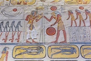 AF14MWT0033 Egypt. Tomb of Tutankhamen, Valley of the Kings