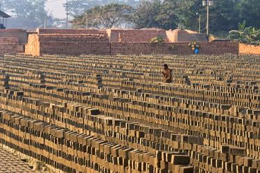 AS03KSU0237 Brick factory, Khulna Division, Bangladesh.