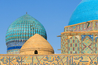 Mausoleum of Khoja Ahmed Yasawi, UNESCO World Heritage Site, Turkestan, Kazakhstan