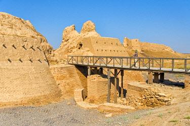 AS41KSU0162 Ancient Sauran Settlement, Kazakhstan.