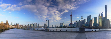 CH12331AWRF Skyline of Pudong, Shanghai, China