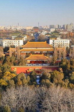 CH12349AWRF Shouhuang Palace inside Jingshan Park, Beijing, China