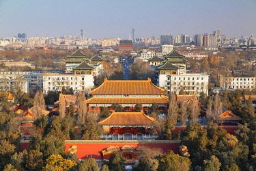 CH12353AWRF Shouhuang Palace inside Jingshan Park, Beijing, China
