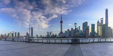 CH12366AWRF Skyline of Pudong, Shanghai, China