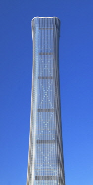 CH12249AW CITIC Tower (tallest skyscraper in Beijing in 2020), Beijing, China