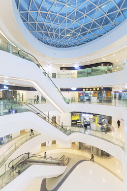 CH12300AW Interior of Galaxy SOHO (designed by Zaha Hadid), Beijing, China