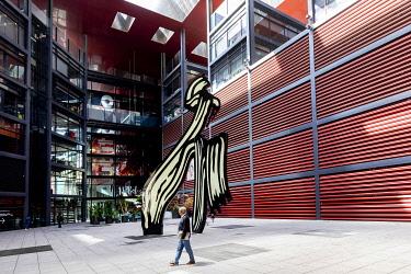 IBLSKI05105717 Museo Nacional Centro de Arte Reina Sofia, Museum, Madrid, Spain, Europe