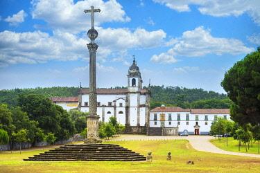 IBXGAB05111839 St. Martin of Tibaes Monastery, Stone cross, Braga, Minho, Portugal, Europe