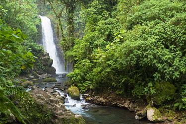 IBXJOR04502929 La Paz Waterfalls, La Paz Waterfall Gardens, Central Valley, Costa Rica, Central America