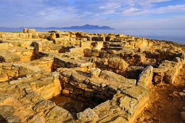 IBXMAN05120364 Necropolis of Son Real, Punta des Fenicis near Can Picafort, Majorca, Balearic Islands, Spain, Europe