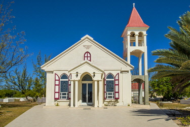 CA46MDE0044 Methodist Church, Cockburn Town, Grand Turk Island, Turks and Caicos Islands, Caribbean.