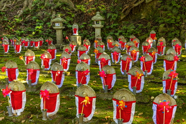 Forest of a 1000 Buddhas, Kongorin-ji Temple, Shiga Prefecture, Japan