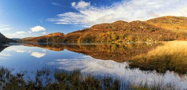 SCO35633AW Loch Dochart Reflections, near Crianlarich, Stirling, Scotland