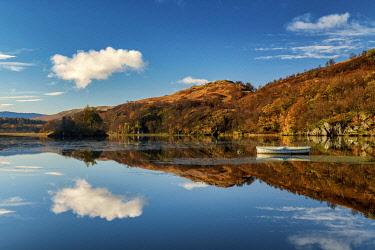 SCO35634AW Loch Dochart Reflections, near Crianlarich, Stirling, Scotland