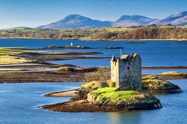 SCO35650AW Castle Stalker, Appin, Argyll, Scotland