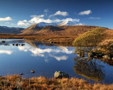 SCO35654AW Lochan na Achlaise Reflections, Argyll & Bute, Scotland