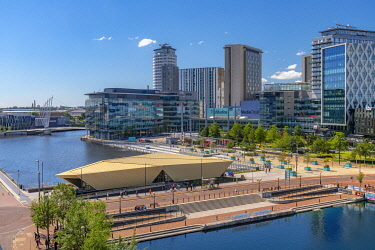 UK, England, Greater Manchester, Salford, Salford Quays, North Bay, MediaCityUK