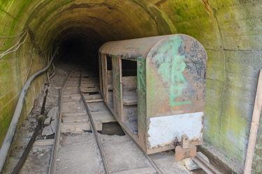 EU37KSU0150 Abandoned coal mine, Serbia.