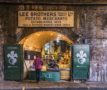 ENG16541AW Borough Market, London, England