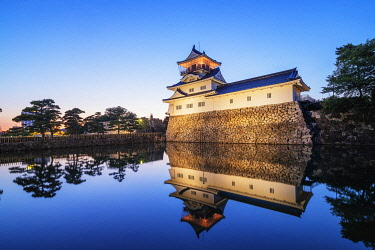 JAP2578 Japan, Honshu, Toyama prefecture, Toyama, Toyama Castle (Azumi castle), built in 1543