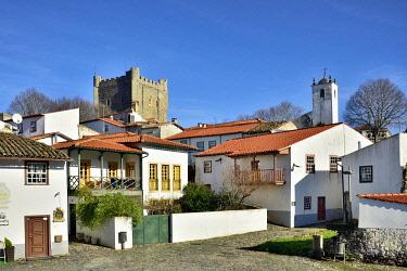 POR10875AW Bragança citadel. Portugal