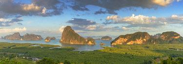 THA1446AW Ao Phang-nga National Park, Phang Nga Province, Thailand