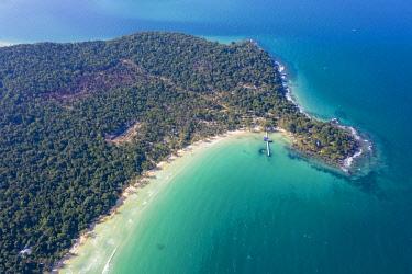 CM02266 Cambodia, Sihanoukville, Koh Rong Samloem Island, Lazy Beach