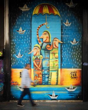 COL0868AW Wall Mural, Bogota, Cundinamarca, Colombia, South America