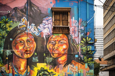 COL0873AW Wall Mural, Bogota, Cundinamarca, Colombia, South America