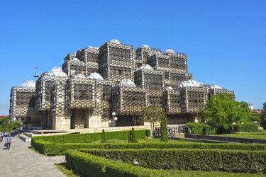 EU48KSU0041 National Library of Kosovo, Pristina, Kosovo
