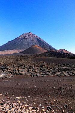 IBLIRY05127442 Pico do Fogo Volcano, Ch�A? das Caldeiras, Fogo Island, Island of Fire, Cape Verde, Africa