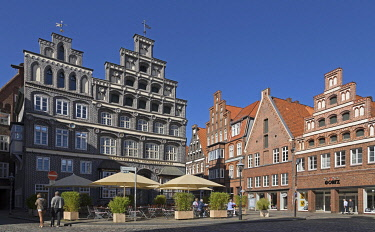 IBXSHG05107032 Chamber of Industry and Commerce, Old Town, L�neburg, Lower Saxony, Germany, Europe