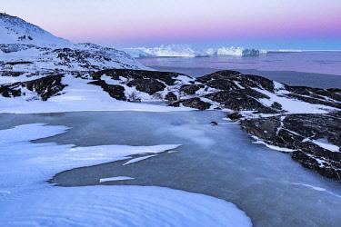 GRN1401 Overlooking the Kangia Icefiord near to Ilulissat