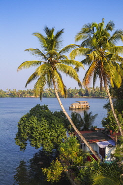 IN04438 India, Kerala, Kollam, Ashtamudi Lake