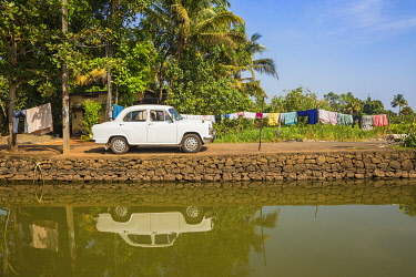 IN04445 India, Kerala, Alappuzha (Alleppey),  Alappuzha (Alleppey) backwaters,