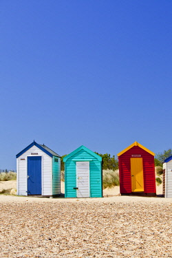 ENG16755AW Colourful Beach Huts, Southwold, Suffolk, England