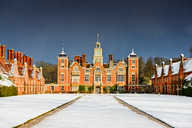 ENG16768AW Blickling Hall in Winter, Norfolk, England